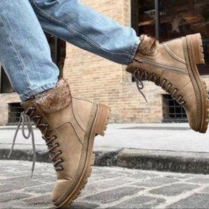 NEW Steve Madden Keystone Lug Hiker boots